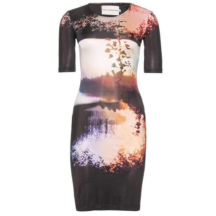 mytheresa.com - Printed silk-jersey dress