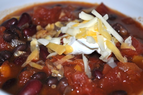 ... chili smoky two bean vegetarian chili recipe yummly two bean vegetable