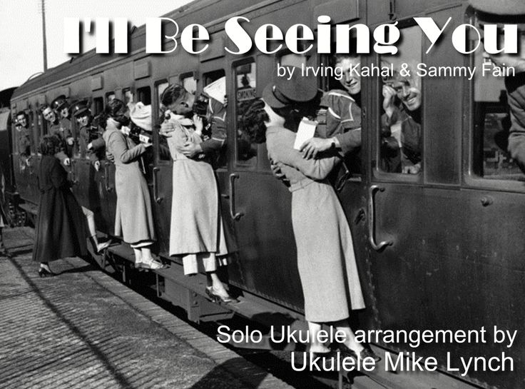 I'll Be Seeing You - Ukulele solo arrangement by Ukulele Mike Lynch - Tablature available for purchase