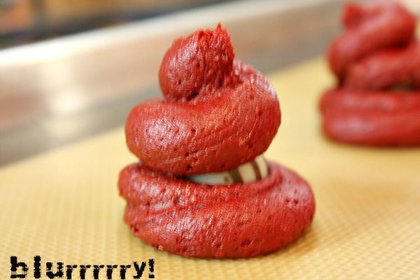 Red Velvet Cookies with Cream Cheese Frosting   Recipe