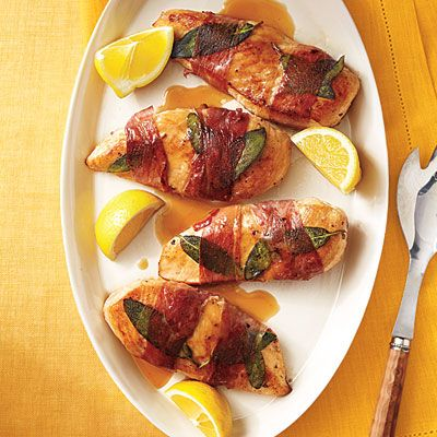 Lemony Chicken Saltimbocca|Cooking Light, Brian told me twice that ...