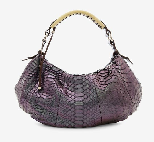Pauric Sweeney Metallic, Purple And Blue Handbag