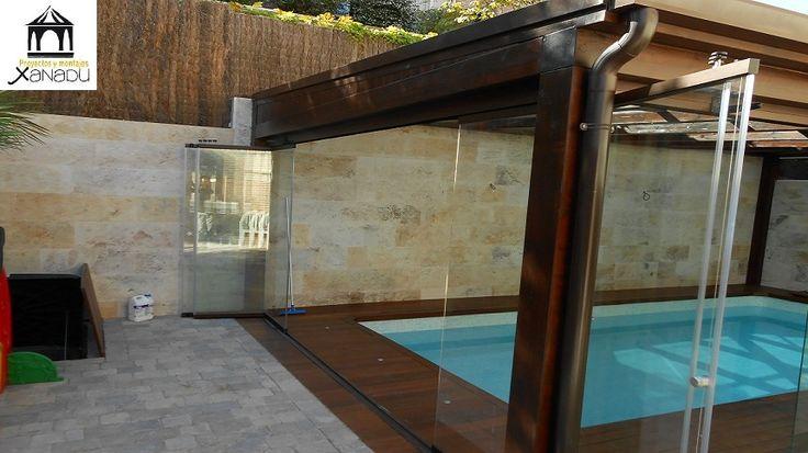 Pin by proyectos y montajes xanadu on cerramientos pinterest for Cerramientos para piscinas
