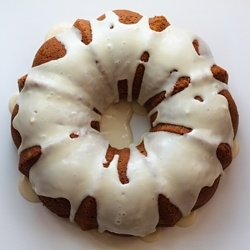 Pumpkin Spice Bundt Cake with Buttermilk Icing - moist and delicious ...