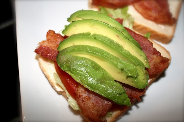 BLT with avocado | All Things Foodie | Pinterest