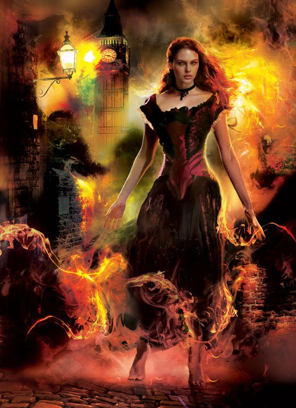 "Gene Mollica Art; Cover of ""Firelight"" by Kristen Callihan"