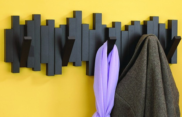 Pin by brittney heck on diy pinterest for Fold down coat hooks