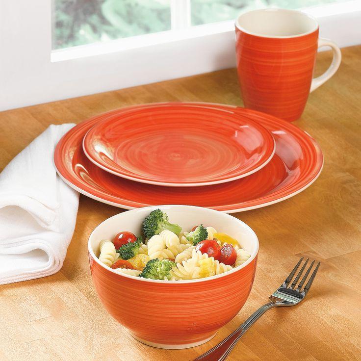 colorful dinnerware set bhometgithursday pinterest
