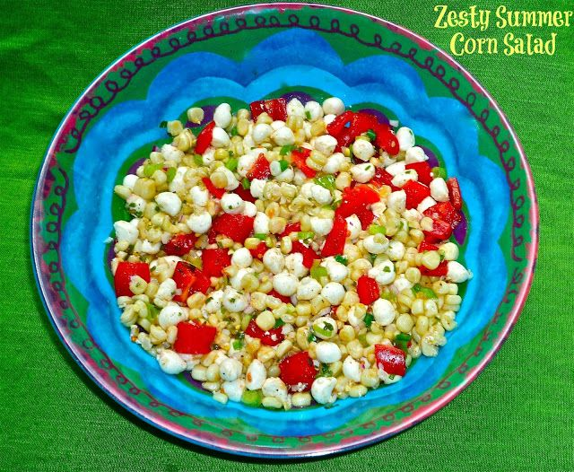 The Weekend Gourmet: Zesty Summer Corn Salad...Featuring Amaize Sweet ...