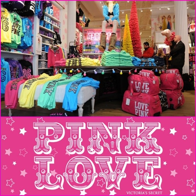 Pink clothing store nyc
