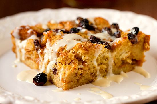 New Orleans Bourbon Bread Pudding with Bourbon Sauce   Recipe
