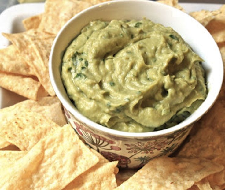 avocado and white bean dip 1 ripe avocado 1 can cannellini beans 1 cup ...