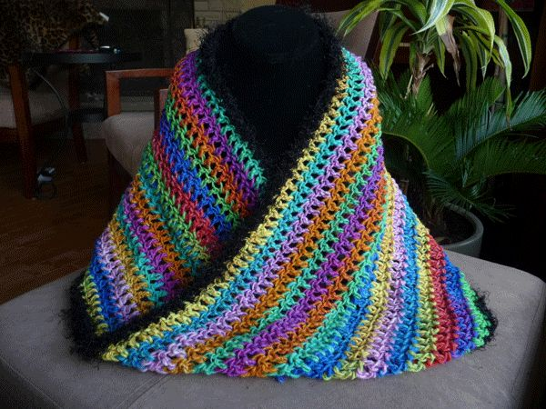 Simple Baby Blanket Knitting Patterns : Mobius /Infinity Scarf Craft Ideas Pinterest