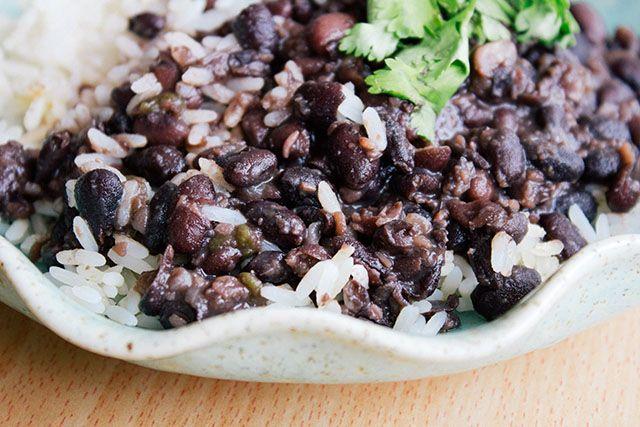 Quick And Delicioso Cuban Style Black Beans Recipes — Dishmaps