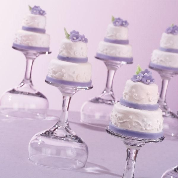 ... They are topped with Quick-Pour Fondant Icing and tiny fondant blooms