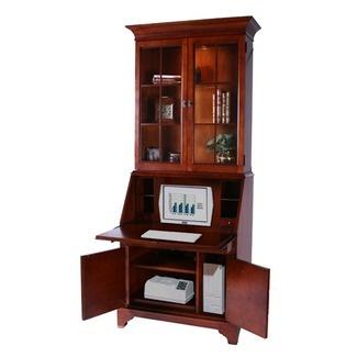 secretary desk hutch