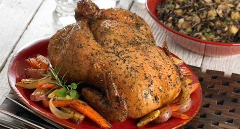 Roasted Chicken with Herbes de Provence