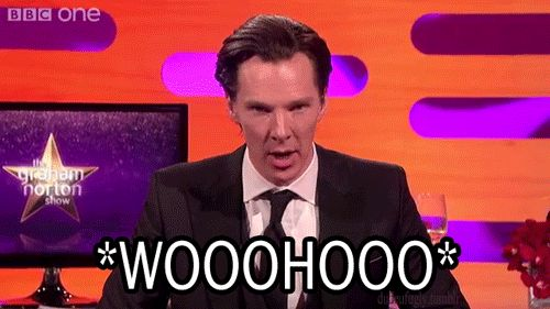 WooHoo Gif <-- cried laughing during this interview. http://pinterest.com/kasmackl/~-benedict-cumberbatch-~/