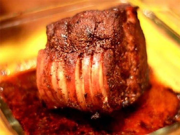 Beef rump roast w barbecue sauce beef rump outstanding i so so