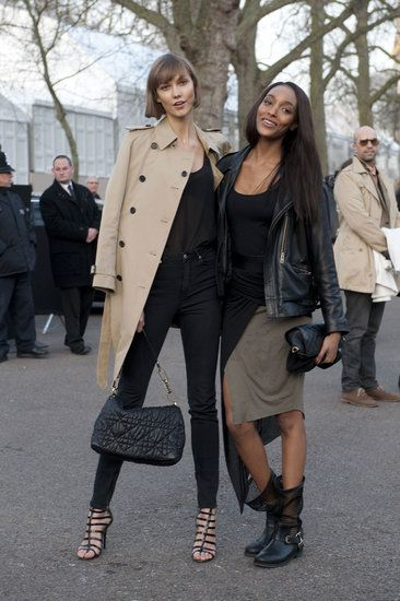 London Fashion Week #StreetStyle #LFW