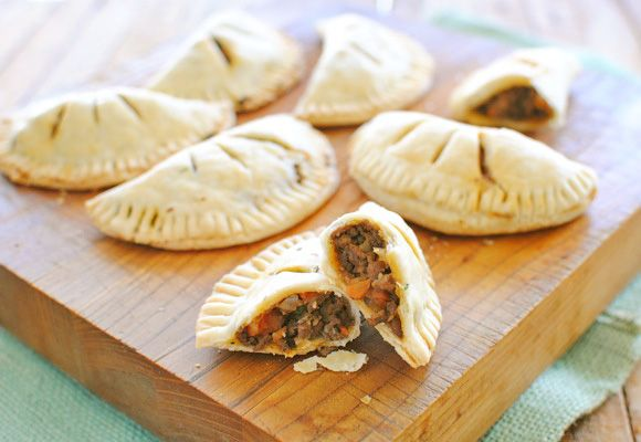 Mini Stout Pies - I love anything in a small pastry shell