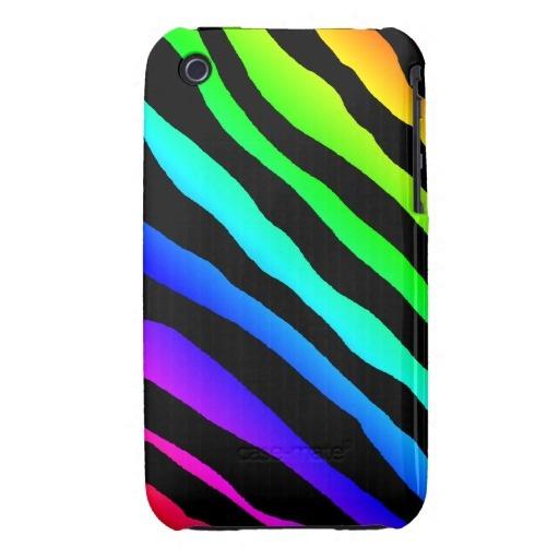 Bright Rainbow Stripes