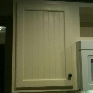 Finished cabinet door. | Our diy kitchen remodel | Pinterest