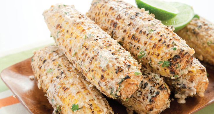 grilling recipes | Mexican-style Charcoal-Grilled Corn