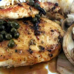 Chicken breasts in caper cream sauce | Cathartic Cooking | Pinterest