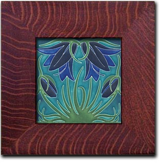 Arts and crafts tile arts and crafts craftsman style for Arts and crafts floor tile