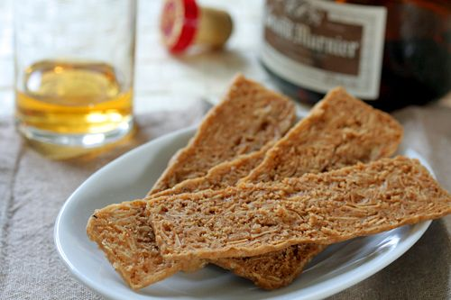 Belgian Butter Almond Thins Recipe