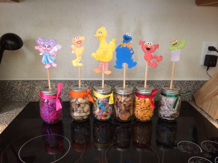Sesame Street Table Decorations Jillians First Birthday