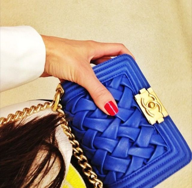 Blue Chanel.