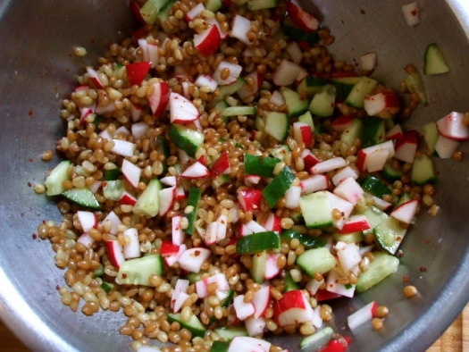 More like this: wheat berry salad , berry salad and food blogs .