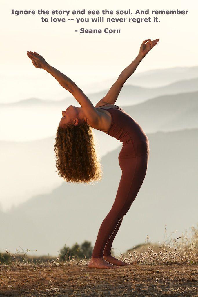 Yoga Inspiration Quotes Take seane corn yoga classes