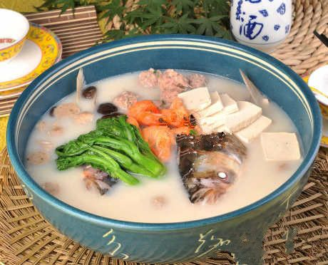French style fish head soup recipe images frompo for Fish head recipe