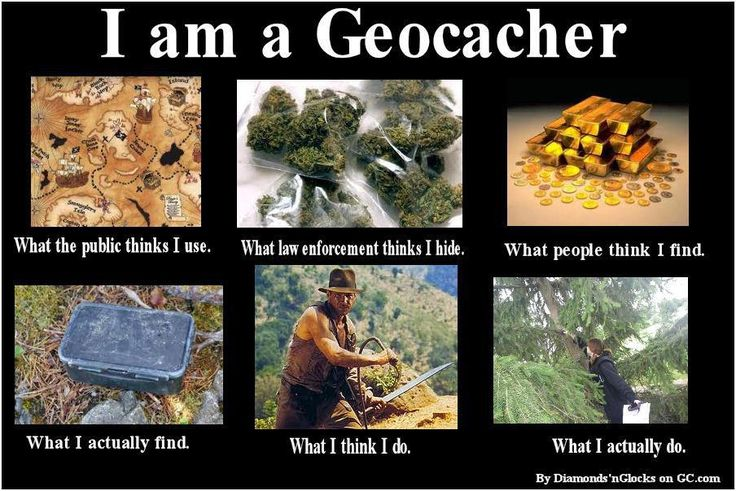 Yup... this describes geocaching pretty accurately.