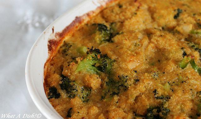 Cheesy Broccoli Quinoa | Side Dishes | Pinterest
