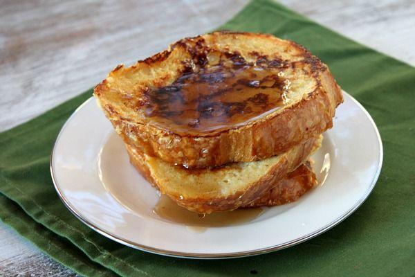 Egg Nog French Toast via Recipe Girl