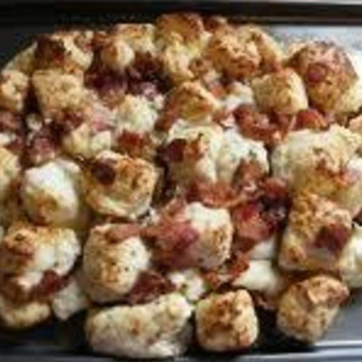 Bacon and Cheese Pull-Aparts | Breakfast Foods | Pinterest