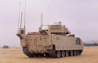 Bradley battle command vehicle bcv mbcotm bradley command