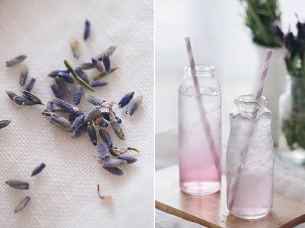 DIY Lavender Simple Syrup