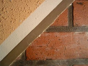 exterior wall coatings-unpainted-brick | Before and after painted hou ...