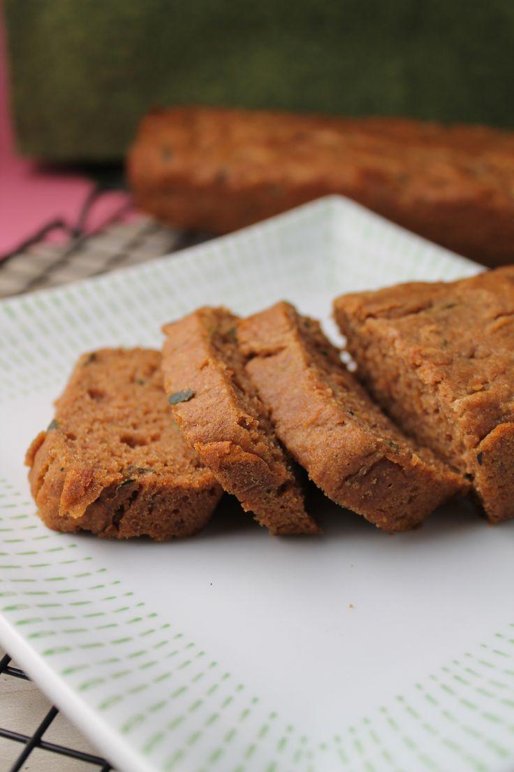 Healthier Zucchini Bread – Gluten Free & Vegan | Tessa the Domestic ...
