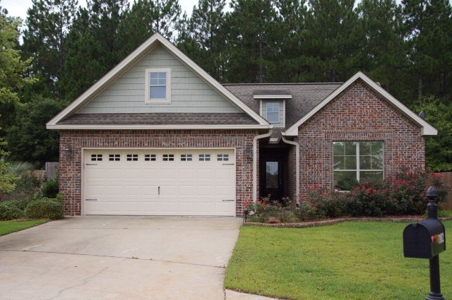 Craftsman style brick home home pinterest Brick craftsman house
