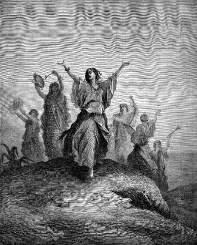 A form of belly dance in biblical times