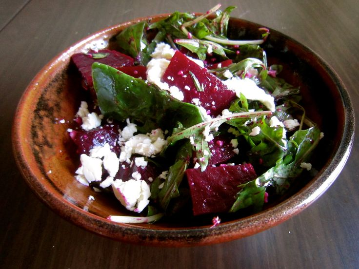 Beet and feta salad | Sides and Salads | Pinterest