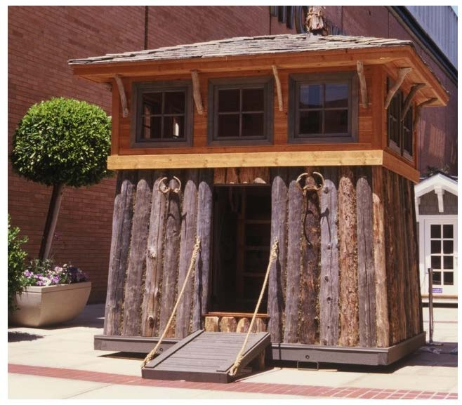 Hip Roof House Plans To Build Life Sized Lincoln Logs Lodging Plans