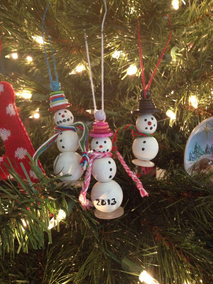 #christmas #crafts #snowman