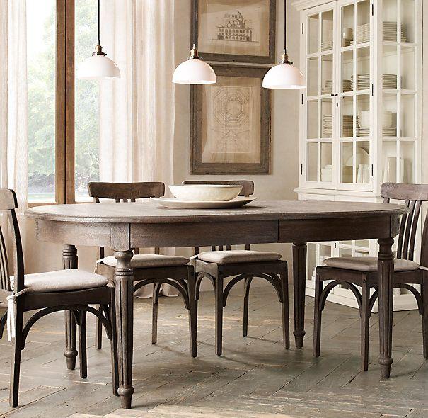 Vintage French Fluted Leg Table Restoration Hardware  : 18beb3045f775ef852f1d661385656de from www.pinterest.com size 605 x 590 jpeg 79kB